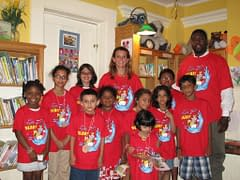 Children from the Hudson Area Library Summer Reading Program