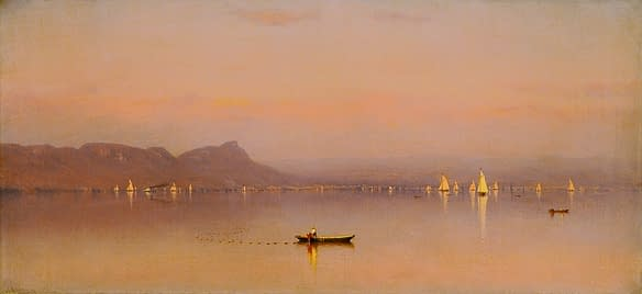 The Tappen Zee, 1862 by Sanford R. Gifford