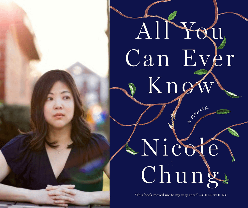 Nicole Chung, author of All You Can Ever Know