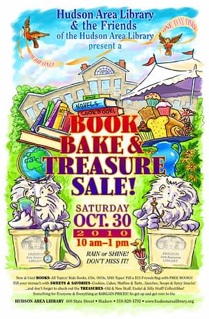 Book Bake & Treasure Sale October 20th 2010 10am to 1pm